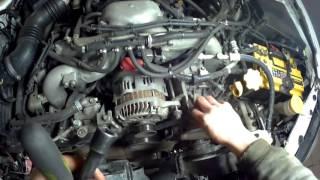 Автомобильдерді замена ремня ГРМ Subaru 2.5