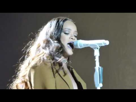 Rihanna Love On The Brain live Dublín 2016