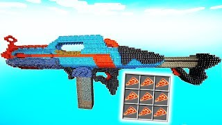 GIGANTISCHE NERF GUN LUCKY BLOCK BATTLE