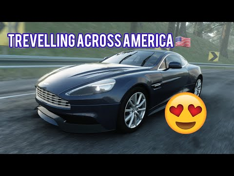 The Crew 2 Road Trip Aston Martin Vanquish 2010 Firs Person Professional Driving Manual Gear Youtube