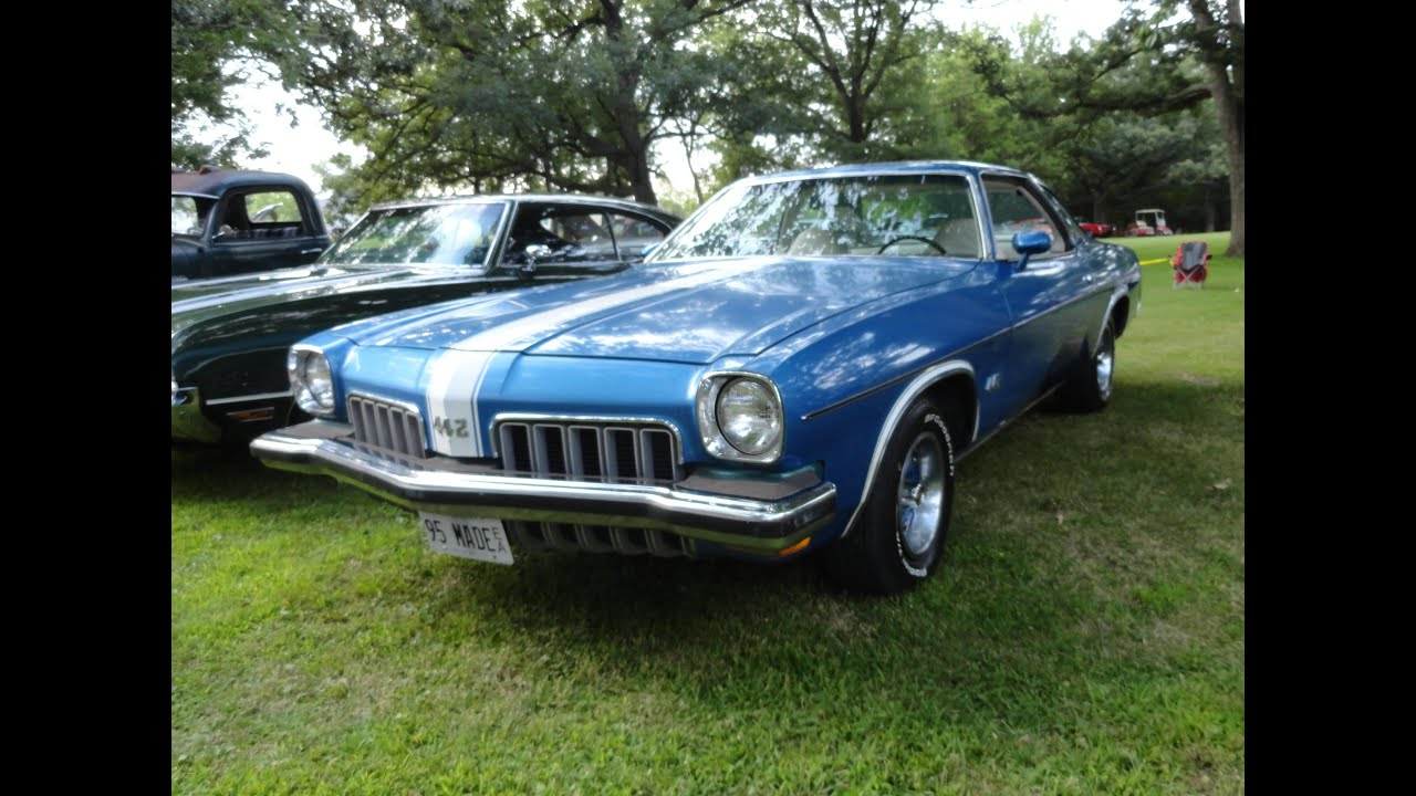 1973 Oldsmobile Olds Cutlass 442 With A 455 Engine 4 Speed My Hurst