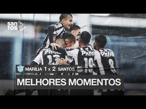 MARÍLIA 1 X 2 SANTOS | MELHORES MOMENTOS | COPA SP (09/01/20)