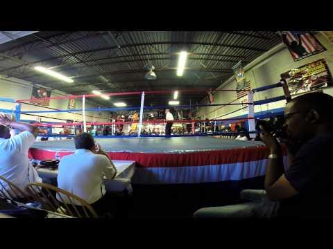"Maurice ""Reese"" Neblett, Richmond PAL Boxing Team 165LBS. KO Victory 5/24/14"