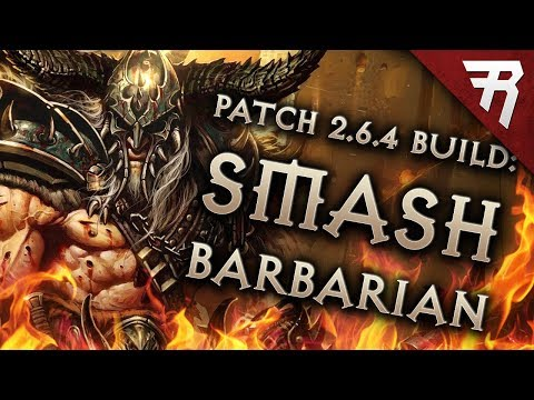 Diablo 3 Season 18 Barbarian Immortal King HOTA GR 123+ Build Guide - Patch 2.6.6
