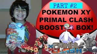 Pokemon XY Primal Clash Booster Box Opening Video PART 2! NICE PULLS! Jenna Em Channel
