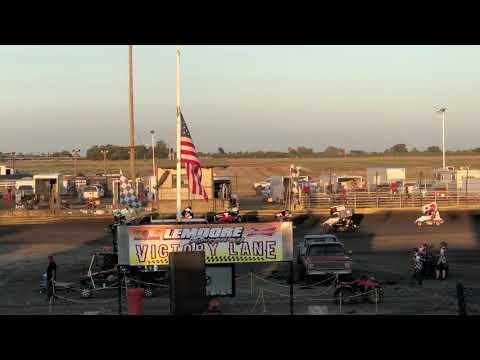 Lemoore Raceway 8/10/19 Jr Sprint Heat- Cash