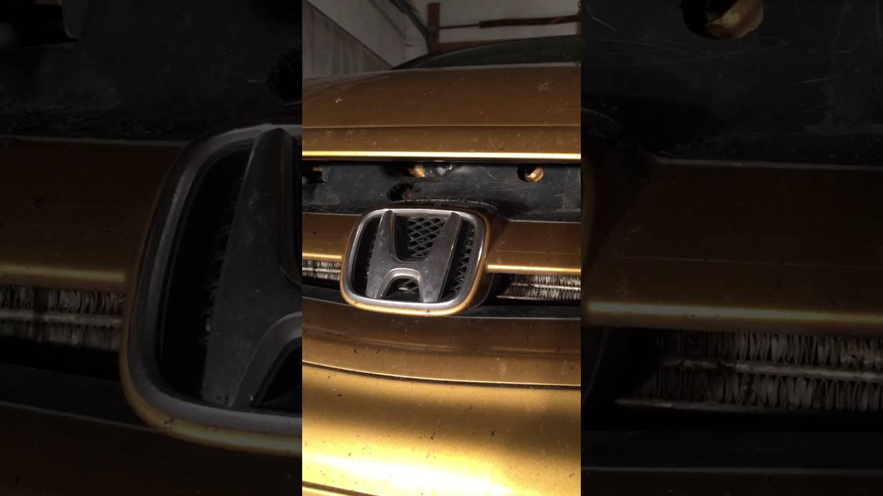 How To Open A Hood On A Honda Civic When Hood Latch Is Stuck In 10