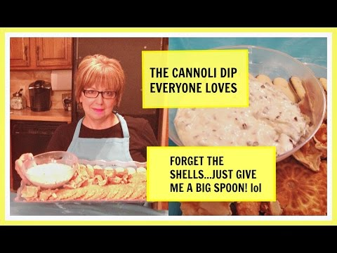 How To Make The Best Cannoli Dip