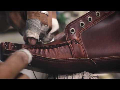 Sebago Series, How It's Made: Vershire Chukka