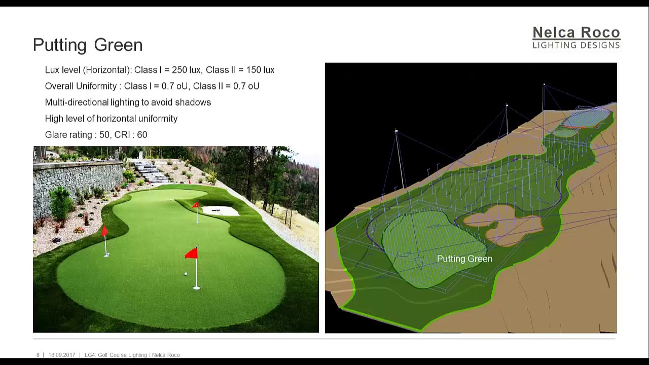 Lg golf course lighting book narration youtube