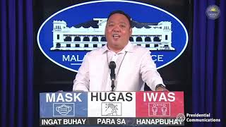 Press Briefing By Presidential Spokesperson Harry Roque, Jr. 1/11/2021