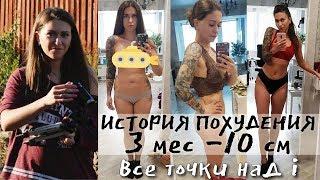 ИСТОРИЯ ПОХУДЕНИЯ / ЗАМЕРЫ До После / Похудеть за 3 месяца на 10 кг / Как я РЕАЛЬНО ПОХУДЕЛА БЫСТРО