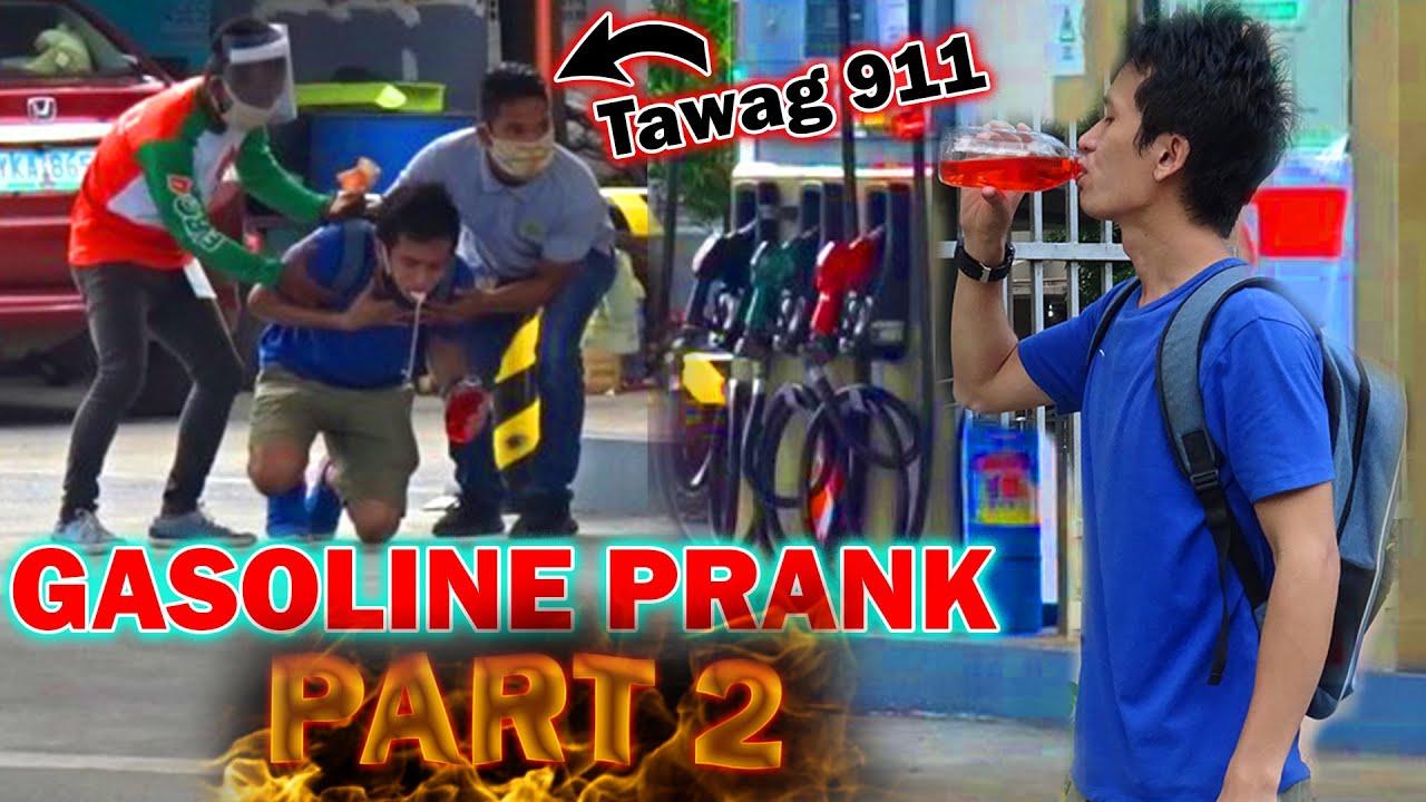 GASOLINE PRANK CALLING 911 | PART 2