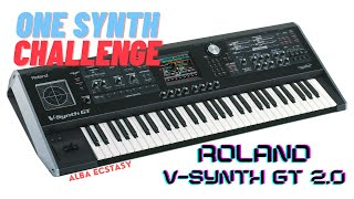 Roland V-Synth GT - demo | AE