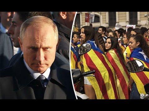 Vladimir Putin TRAICIONA a Catalonia y pierde la batalla contra Europa.