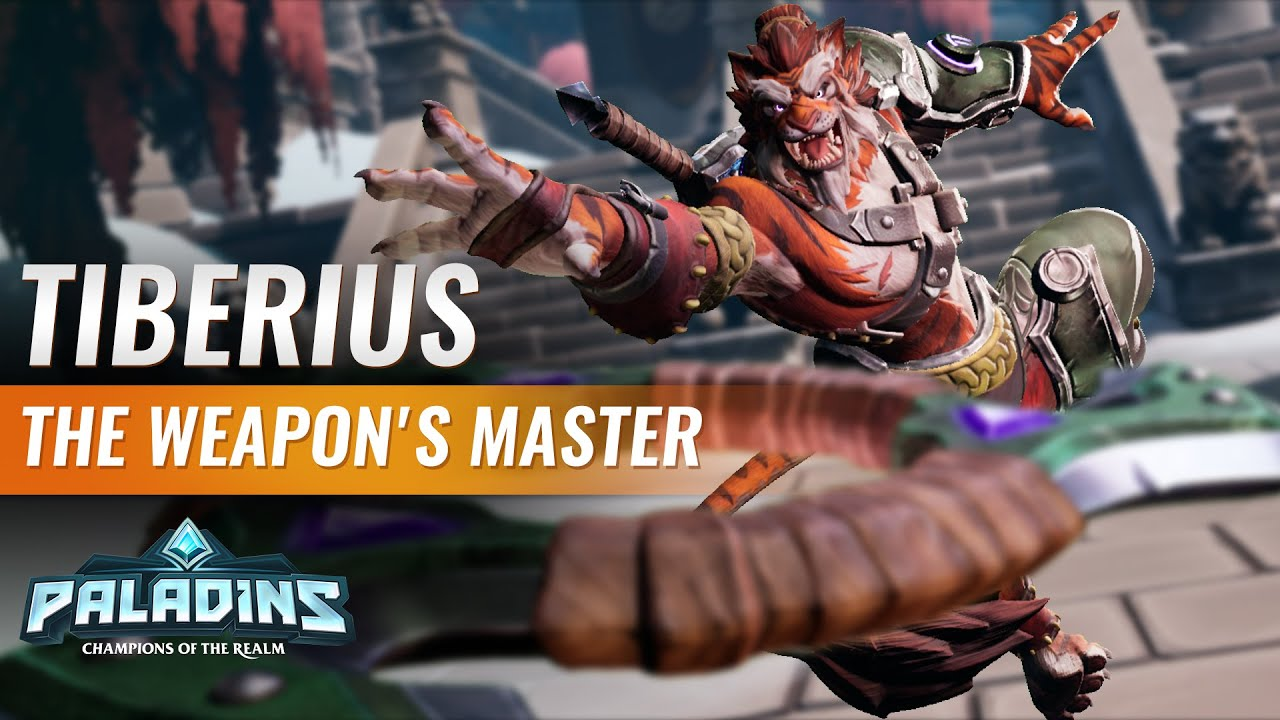 Paladins Tier List 2020.New Paladins Champion Tiberius First Look And Ability Analysis