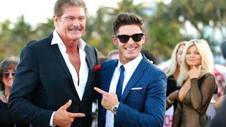 Baywatch premiere: The Hoff and Pamela Anderson are back on the beach