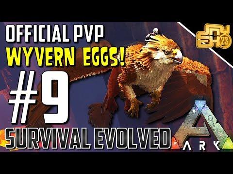 ARK OFFICIAL PVP RAGNAROK - S2 EP9 - I NEED GOOD WYVERN EGGS!