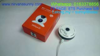How to set up, ip camera VR CAM 360 OR 360EYE s
