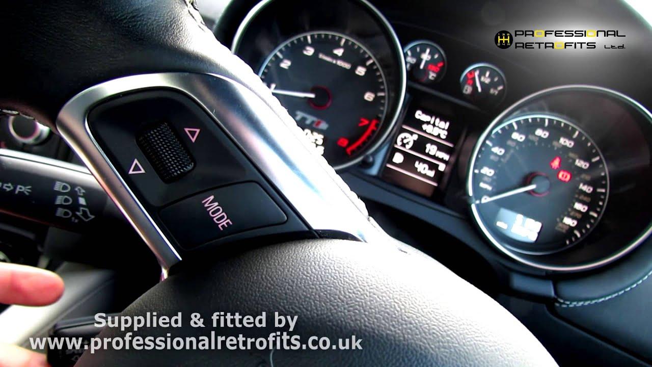 audi tts blue 2012 cruise control retrofit youtube rh youtube com Audi A5 Audi A5