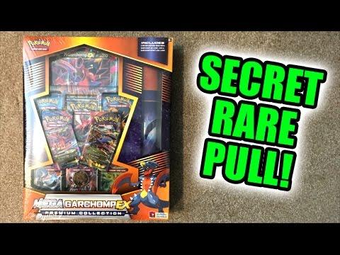 SECRET RARE PULL! - Opening a Pokemon TCG MEGA GARCHOMP EX BOX!