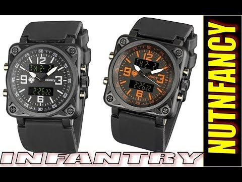 INFANTRY MODEL NO. IN-016 PILOT WATCH PRODUCT DESCRIPTION .