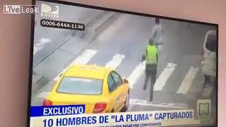 Lopov nakon pokusaja kradje pokusava pobjeci policiji, ali ... thumbnail