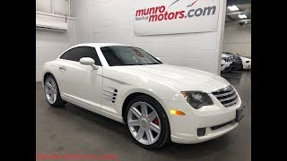 2004 Chrysler Crossfire  SOLD SOLD SOLD Leather Automatic Munro Motors