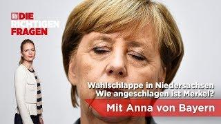 """Wahlschlappe in Niedersachsen - Wie angeschlagen ist Merkel? BILD stellt """"Die richtigen Fragen""""!"""