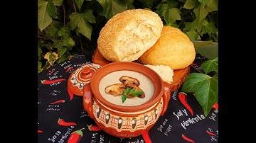 Крем супа от гъби и картофи ❤