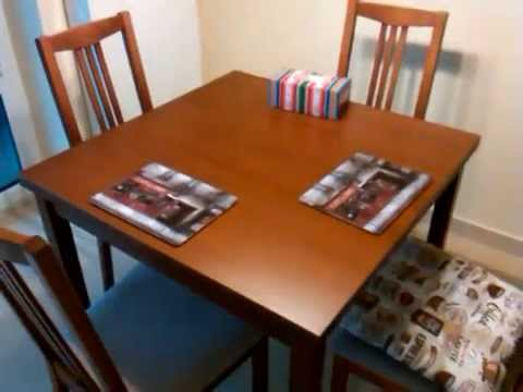 Jak Złożyć Stół Rozkładany Bjursta Z Ikea
