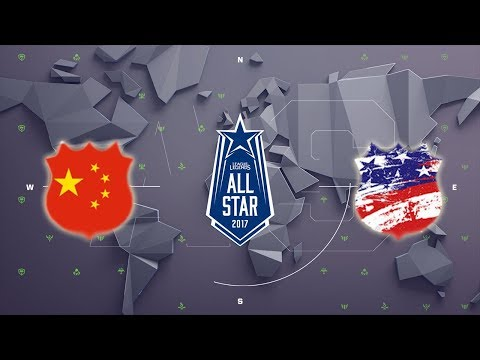 Team LPL vs. Team NA - All-Star Event 2017