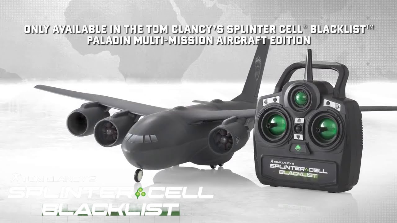 Splinter Cell Blacklist Flying High With The C 147b