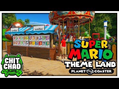 Amiibos!   Super Mario Theme Park - Planet Coaster  