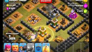 Repeat youtube video Clash of Clans Level 50 - Sherbet Towers