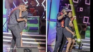 Again - Fella Makafui Surprise Medikal On Ghana Meet Naija Stage