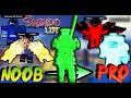 Shindo LIfe-Noob To ProC-S3Max Rank!!