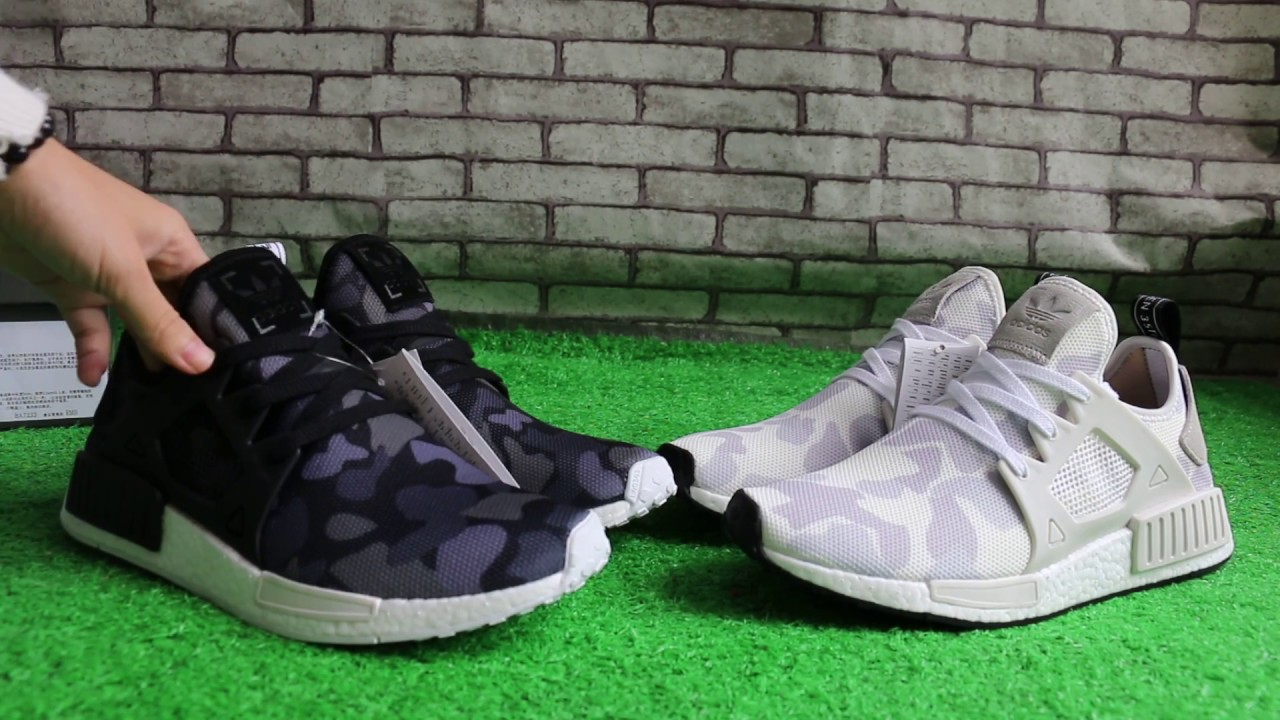 Adidas NMD XR1 ba7231 vs ba7233 Review YouTube