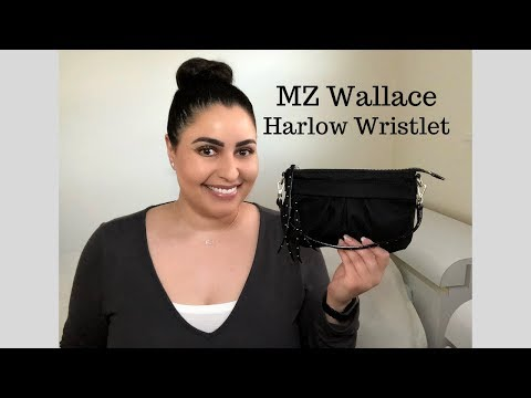 MZ Wallace Harlow Wristlet - Review, What's in my Bag WIMB, and Mod Shots