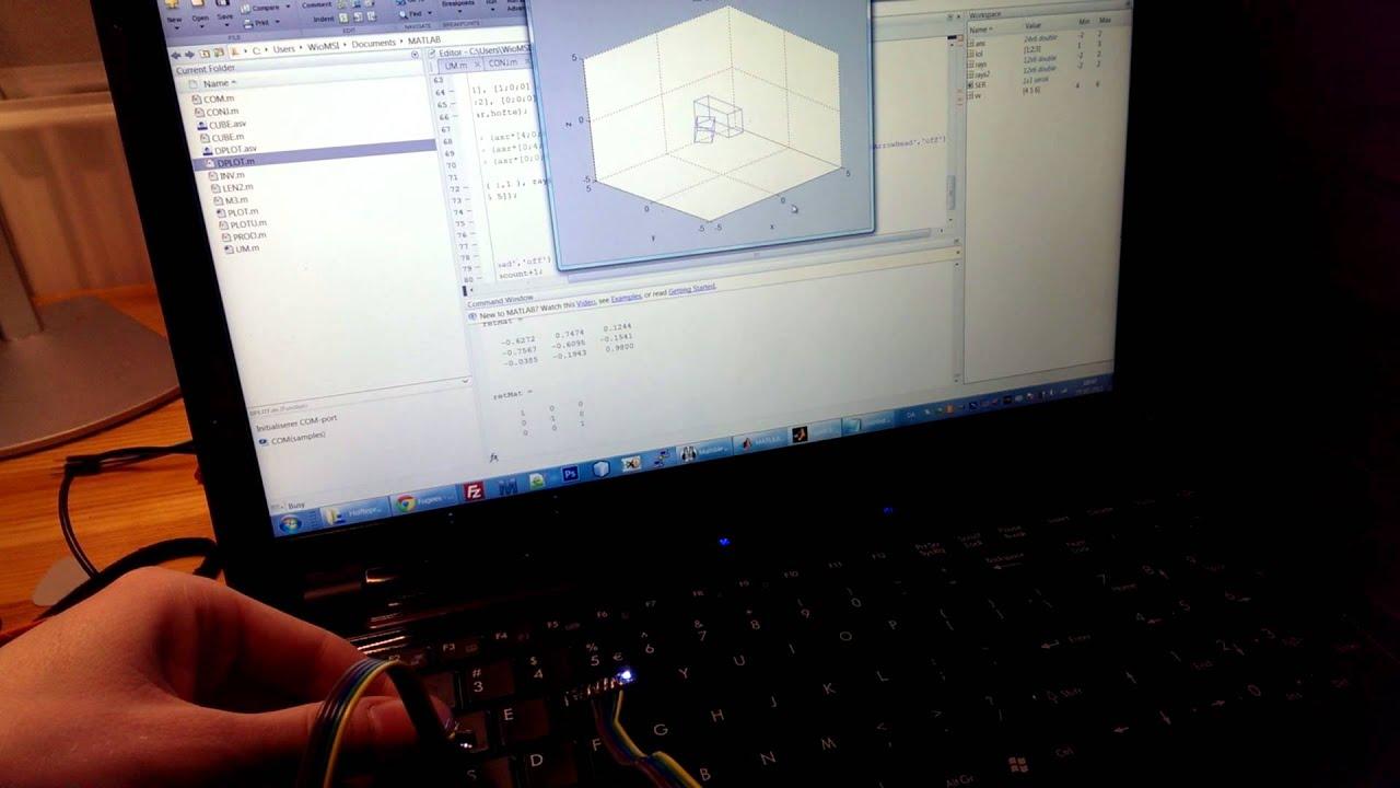 Mpu arduino matlab quaternion difference youtube