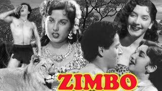 Zimbo Full Movie | Chitra | Azad | Old Hindi Adventure Movie | Old Classic Hindi Movie