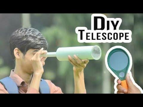 HOW TO MAKE REFLECTOR TELESCOPE?????????