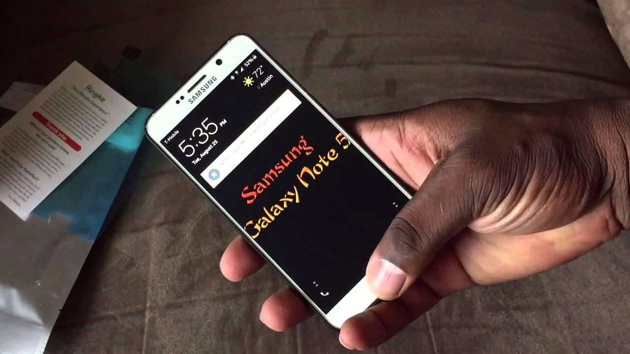 buy popular 1d8d6 5e9f0 Samsung Galaxy Note 5 Ringke Slim case
