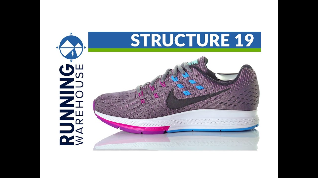 Nike Zoom Structure 19 for women - YouTube 9a5afcea43