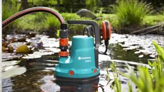GARDENA Classic dyk/trykpumpe til urent vand 7000/D