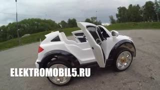 видео: Porshe Cayenne Turbo VIP обзор электро мобиля