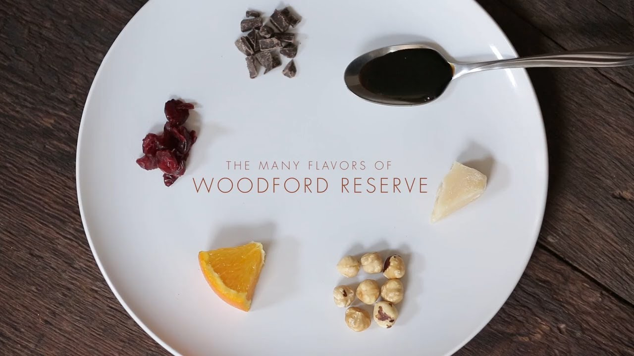 Woodford Reserve Conduct A Bourbon Flavor Tasting Youtube