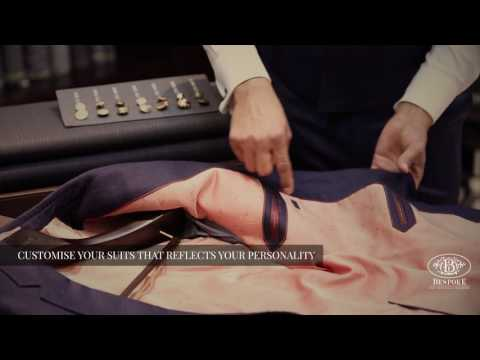 The Art of Bespoke Suits