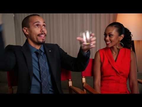 Sweetheart Charade Challenge with Bryton James and Mishael Morgan from The Young and the Restless
