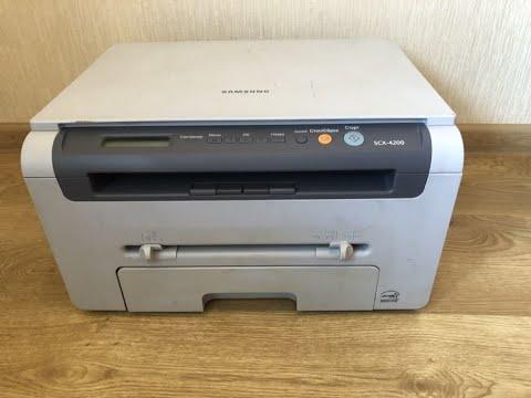 Принтер тускло печатает принтер. РЕШЕНИЕ на примере Samsung 4200